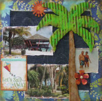 Corrugated Beach 2 Page Layout